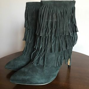 100e874c276 Steve Madden Shoes - ✨NWOB✨Steve Madden Flapper Fringe Boots